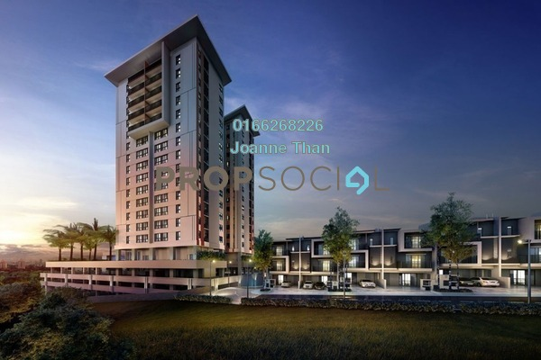 For Sale Condominium at Andana @ D'Alpinia, Puchong Freehold Semi Furnished 3R/3B 710k