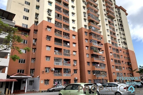 For Sale Apartment at Sri Camellia Apartment, Kajang Freehold Fully Furnished 4R/1B 335k