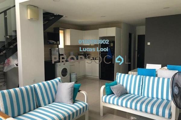 For Rent Duplex at D'Latour, Bandar Sunway Freehold Fully Furnished 3R/2B 2.85k