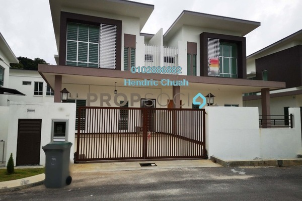 For Rent Semi-Detached at Lukut, Port Dickson Freehold Semi Furnished 4R/4B 2.2k
