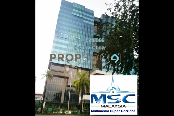For Rent Office at Symphony Square, Petaling Jaya Freehold Semi Furnished 0R/0B 16.5k