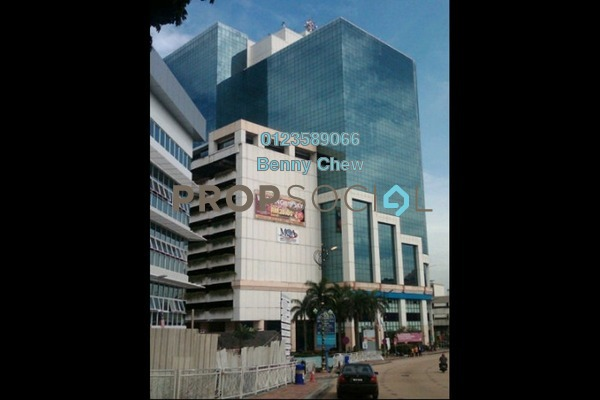 For Rent Office at Menara PKNS, Petaling Jaya Freehold Semi Furnished 0R/0B 12k
