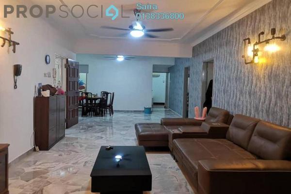 For Rent Condominium at Pinggiran Taman Tun Dr Ismail, TTDI Freehold Semi Furnished 3R/2B 2.8k