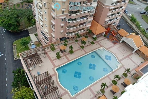 For Sale Condominium at Villa Flora, TTDI Freehold Unfurnished 3R/2B 900k