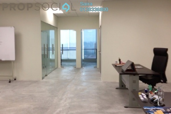 For Sale Office at Oval Tower, TTDI Freehold Semi Furnished 0R/1B 860k
