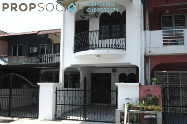 For Sale Terrace at Taman Permata, Wangsa Maju Freehold Unfurnished 4R/2B 550k