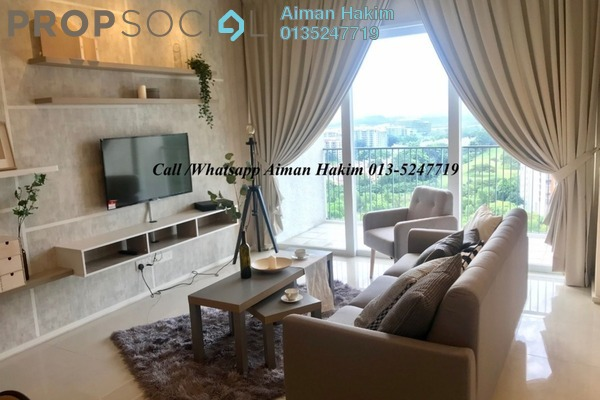 For Rent Serviced Residence at Verdi Eco-dominiums, Cyberjaya Freehold Fully Furnished 2R/2B 2.5k
