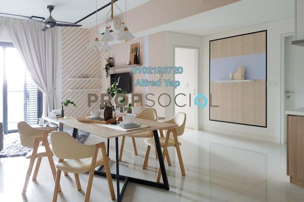 For Rent Condominium at Radia Residences, Bukit Jelutong Freehold Fully Furnished 2R/2B 2.8k