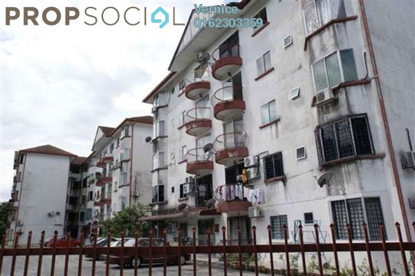 For Sale Apartment at Desa Mutiara Apartment, Kajang Freehold Unfurnished 3R/2B 143k