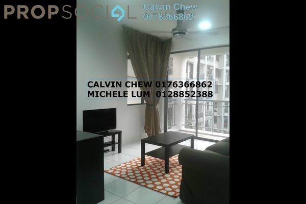 For Rent Condominium at Cyberia SmartHomes, Cyberjaya Freehold Fully Furnished 3R/2B 2.0千