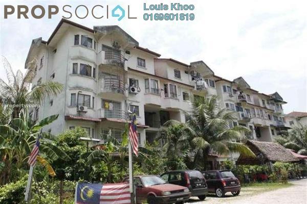 For Sale Condominium at Kenari Court, Pandan Indah Freehold Unfurnished 3R/2B 340k