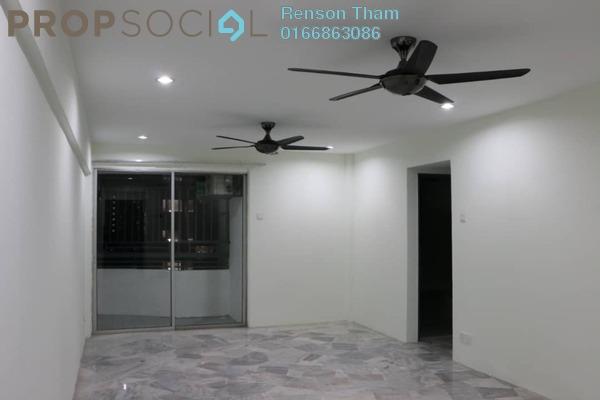For Sale Apartment at PangsaRia, Desa Petaling Freehold Semi Furnished 3R/2B 230k
