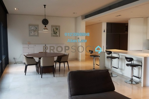 For Rent Condominium at The Troika, KLCC Freehold Fully Furnished 2R/2B 6.8k