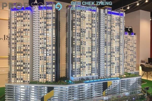 For Sale Condominium at PV18 Residence, Setapak Freehold Semi Furnished 4R/3B 500k