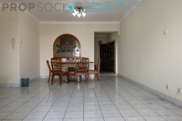 For Sale Condominium at Villa Angsana, Jalan Ipoh Freehold Semi Furnished 4R/3B 490k