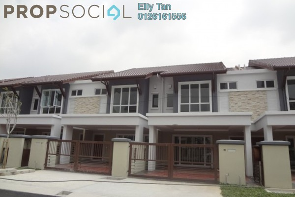 For Rent Terrace at Ayu Impian, Setia Alam Freehold Unfurnished 4R/3B 1.5k
