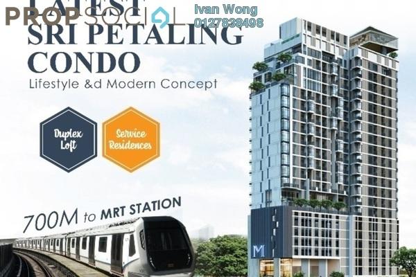 For Sale Duplex at Bandar Baru Sri Petaling, Sri Petaling Freehold Semi Furnished 2R/2B 525k