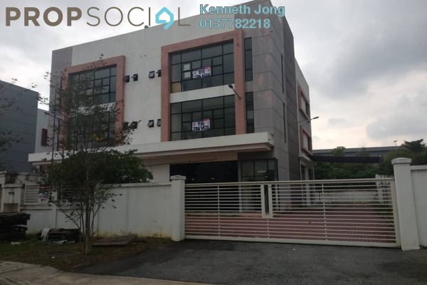 For Sale Factory at i-Parc3, Bukit Jelutong Freehold Semi Furnished 0R/3B 3.4m