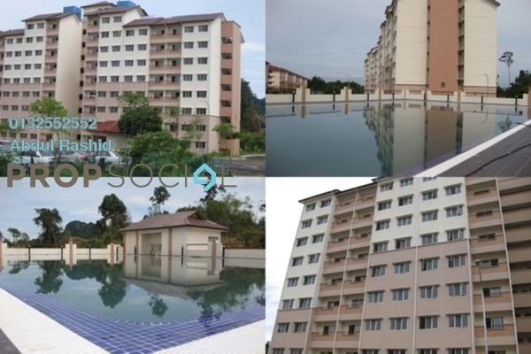For Rent Apartment at Sri Hijauan, Ukay Freehold Unfurnished 3R/2B 1k