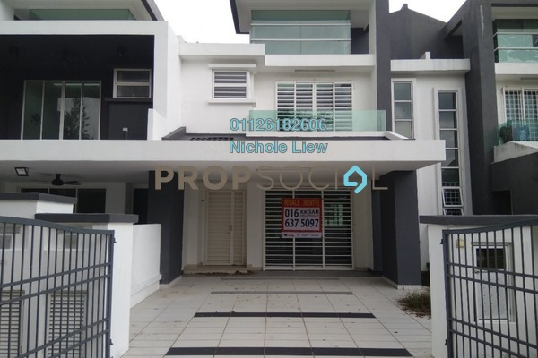 For Sale Superlink at Tiara East, Semenyih Freehold Semi Furnished 4R/3B 500k