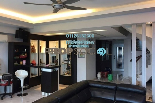 For Sale Duplex at Langat Jaya, Batu 9 Cheras Freehold Fully Furnished 4R/4B 480k
