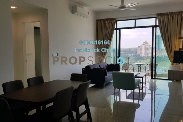 For Rent Condominium at Conezión, IOI Resort City Freehold Fully Furnished 3R/3B 3.5k