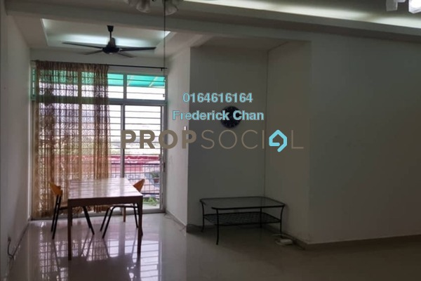 For Rent Condominium at City Garden Palm Villa, Pandan Indah Freehold Semi Furnished 4R/3B 3k