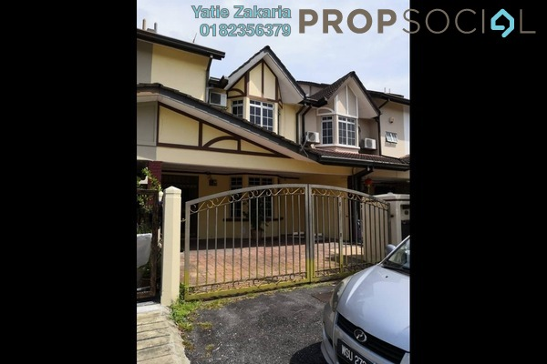For Rent Terrace at BRP 7, Bukit Rahman Putra Freehold Semi Furnished 3R/2B 1.6k
