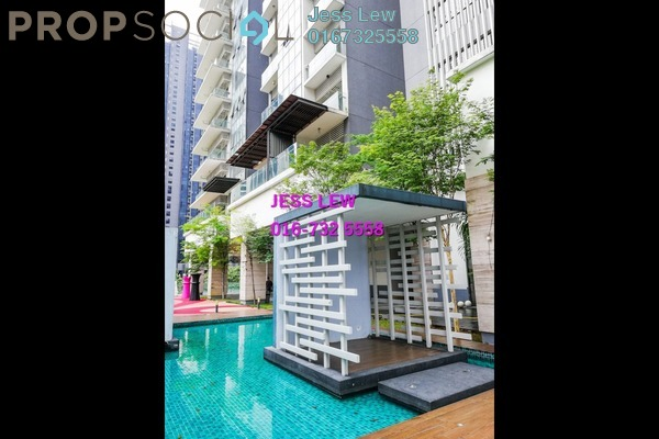 For Sale Condominium at The Elements, Ampang Hilir Freehold Fully Furnished 1R/1B 498k