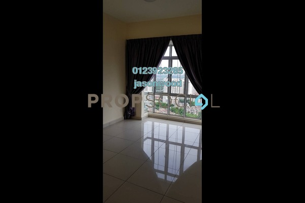 For Rent Condominium at Sky Vista Residensi, Cheras Freehold Semi Furnished 3R/2B 2.1k