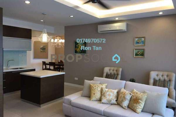 For Rent Condominium at Birch The Regency, Georgetown Freehold Fully Furnished 2R/2B 3.5k