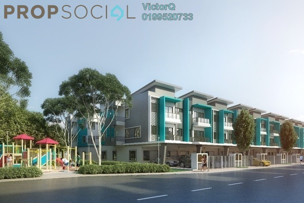 For Sale Townhouse at 28 Residence @ Taman Orkid, Bandar Baru Salak Tinggi Freehold Fully Furnished 4R/4B 475k