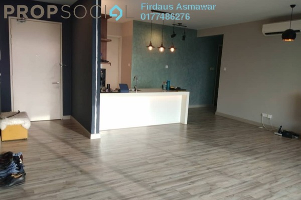 For Rent Apartment at Cristal Residence, Cyberjaya Freehold Semi Furnished 4R/3B 2.2k
