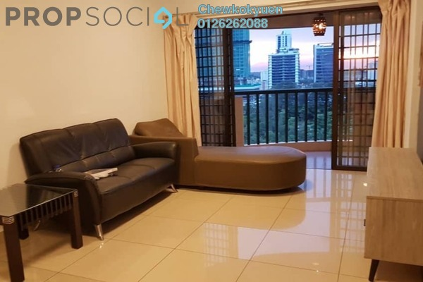For Rent Apartment at Anjung Hijau, Bukit Jalil Freehold Fully Furnished 3R/2B 1.6k