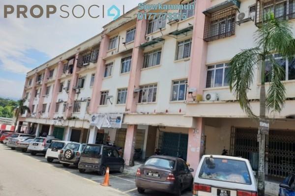 For Sale Apartment at Saujana Villa, Saujana Freehold Semi Furnished 3R/1B 100k