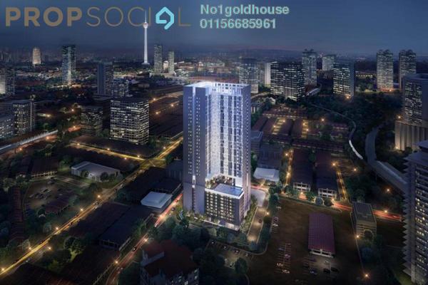 For Sale Condominium at Chambers Kuala Lumpur, Chow Kit Freehold Semi Furnished 1R/0B 430k