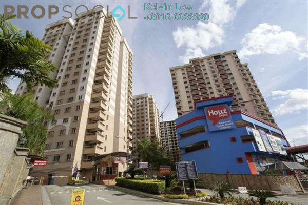 For Sale Condominium at Pelangi Damansara, Bandar Utama Leasehold Semi Furnished 3R/2B 490k