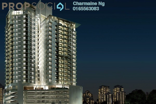 For Rent Condominium at Richmond, Mont Kiara Freehold Unfurnished 3R/2B 3.7k