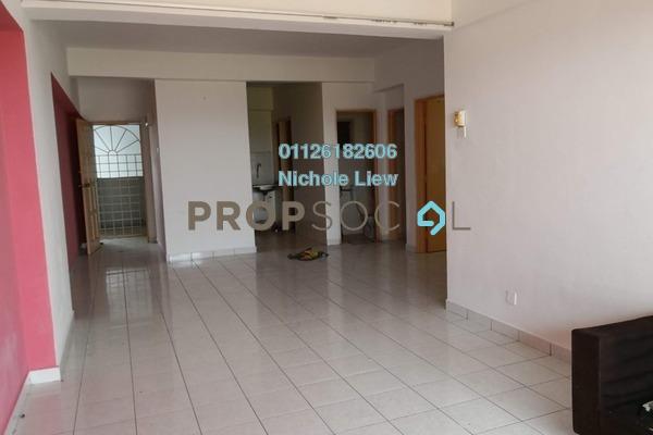 For Rent Apartment at Plaza Indah, Kajang Freehold Semi Furnished 3R/2B 850translationmissing:en.pricing.unit