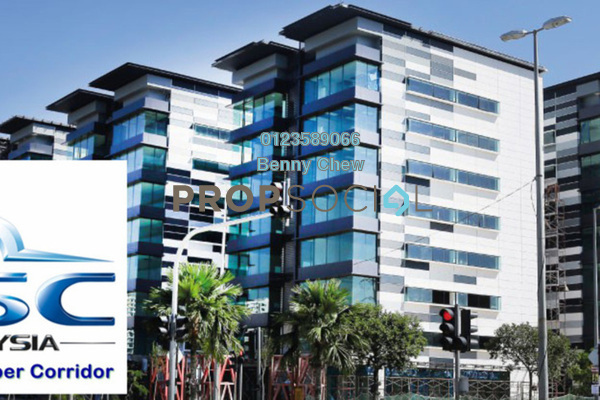 For Rent Office at Star Central, Cyberjaya Freehold Semi Furnished 0R/0B 10.6k