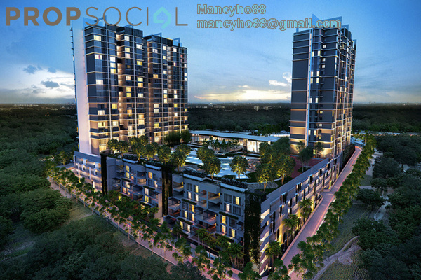 For Rent Condominium at Hyve, Cyberjaya Freehold Fully Furnished 1R/1B 1.35k