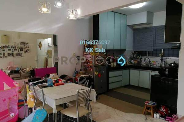 For Sale Apartment at Petaling Indah, Sungai Besi Freehold Semi Furnished 2R/2B 285k