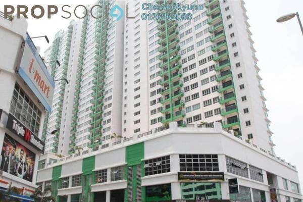 For Sale Serviced Residence at OUG Parklane, Old Klang Road Freehold Semi Furnished 3R/2B 400k