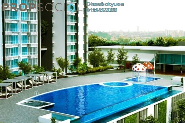 For Sale Serviced Residence at Greenpark, Old Klang Road Freehold Semi Furnished 3R/2B 445k