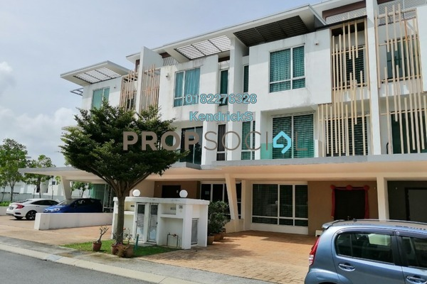 For Rent Terrace at Cassia @ Garden Residence, Cyberjaya Freehold Semi Furnished 6R/6B 3.5k