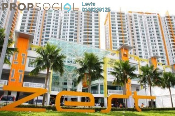 For Rent Condominium at The Zest, Bandar Kinrara Freehold Fully Furnished 3R/2B 1.5k