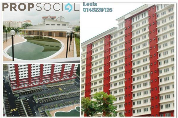 For Rent Condominium at The Lumayan, Bandar Sri Permaisuri Freehold Semi Furnished 3R/2B 1k
