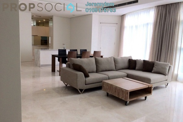 For Rent Condominium at Quadro Residences, KLCC Freehold Fully Furnished 5R/4B 10k
