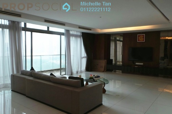 For Rent Duplex at Stonor Park, KLCC Freehold Fully Furnished 4R/5B 14k