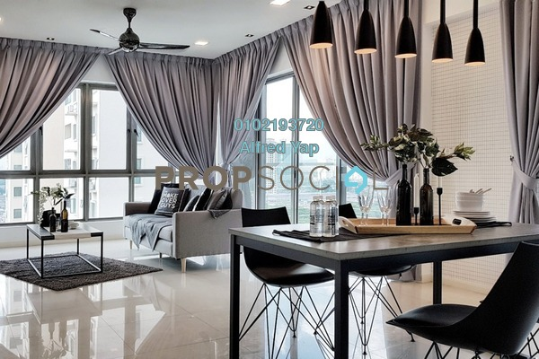 For Rent Condominium at The Maple, Sentul Freehold Fully Furnished 3R/2B 3.9k